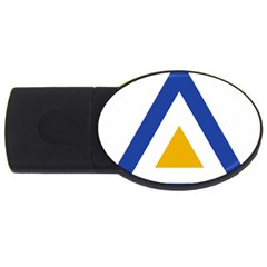Roundel of The Myanmar Air Force USB Flash Drive Oval (4 GB)