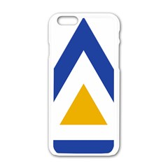 Roundel of The Myanmar Air Force Apple iPhone 6/6S White Enamel Case