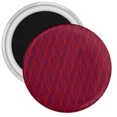 Red pattern 3  Magnets
