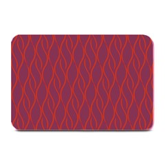 Red pattern Plate Mats