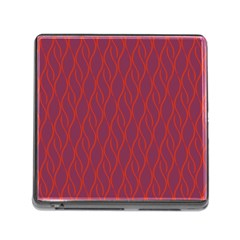 Red pattern Memory Card Reader (Square)