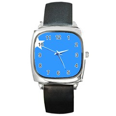 Flag of The Myanmar Air Force Square Metal Watch