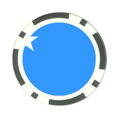 Flag of The Myanmar Air Force Poker Chip Card Guard
