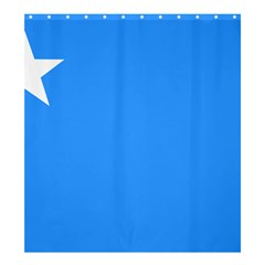 Flag of The Myanmar Air Force Shower Curtain 66  x 72  (Large)