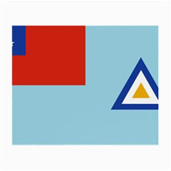 Air Force Ensign ,f Burma, 1948-1974 Small Glasses Cloth (2-Side)