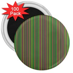 Green lines 3  Magnets (100 pack)