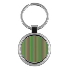 Green lines Key Chains (Round)