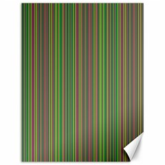 Green lines Canvas 12  x 16