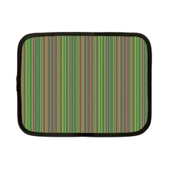 Green Lines Netbook Case (small)