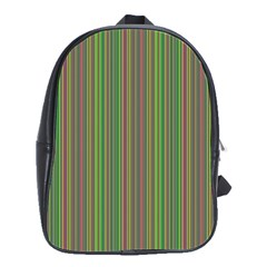 Green lines School Bags(Large)