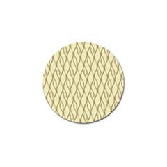 Elegant pattern Golf Ball Marker (10 pack)