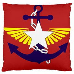 Flag of The Myanmar Armed Forces Large Cushion Case (One Side)