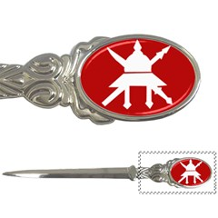 Flag of The Myanmar Army Letter Openers