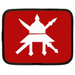 Flag of The Myanmar Army Netbook Case (Large)
