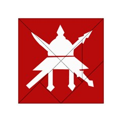 Flag of The Myanmar Army Acrylic Tangram Puzzle (4  x 4 )