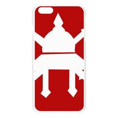 Flag of The Myanmar Army Apple Seamless iPhone 6 Plus/6S Plus Case (Transparent)