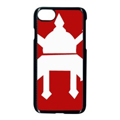 Flag Of The Myanmar Army Apple Iphone 7 Seamless Case (black)