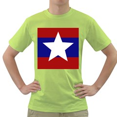 Flag of the Bureau of Special Operations of Myanmar Army Green T-Shirt