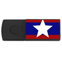 Flag of the Bureau of Special Operations of Myanmar Army USB Flash Drive Rectangular (1 GB)
