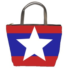 Flag of the Bureau of Special Operations of Myanmar Army Bucket Bags