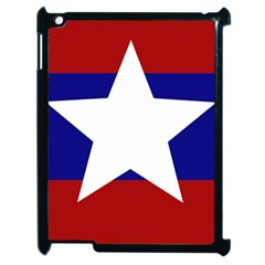 Flag of the Bureau of Special Operations of Myanmar Army Apple iPad 2 Case (Black)