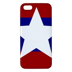 Flag of the Bureau of Special Operations of Myanmar Army Apple iPhone 5 Premium Hardshell Case