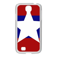 Flag of the Bureau of Special Operations of Myanmar Army Samsung GALAXY S4 I9500/ I9505 Case (White)