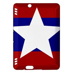 Flag of the Bureau of Special Operations of Myanmar Army Kindle Fire HDX Hardshell Case