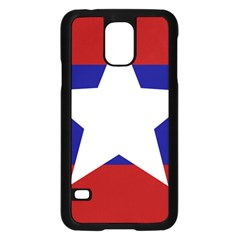 Flag of the Bureau of Special Operations of Myanmar Army Samsung Galaxy S5 Case (Black)