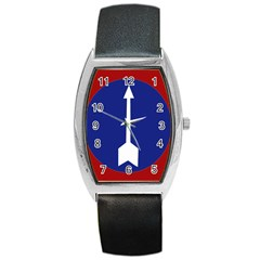 Flag of Myanmar Army Northern Command  Barrel Style Metal Watch