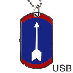 Flag Of Myanmar Army Northern Command  Dog Tag Usb Flash (two Sides)
