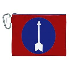 Flag of Myanmar Army Northern Command  Canvas Cosmetic Bag (XXL)