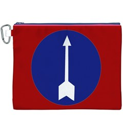 Flag of Myanmar Army Northern Command  Canvas Cosmetic Bag (XXXL)