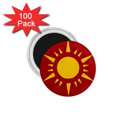 Flag of Myanmar Army Northeastern Command 1.75  Magnets (100 pack)