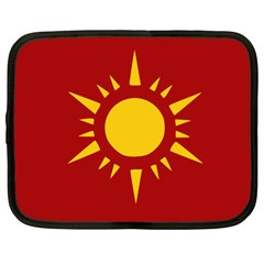 Flag of Myanmar Army Northeastern Command Netbook Case (Large)