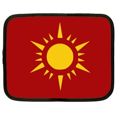 Flag of Myanmar Army Northeastern Command Netbook Case (XXL)