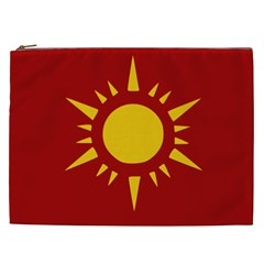 Flag of Myanmar Army Northeastern Command Cosmetic Bag (XXL)