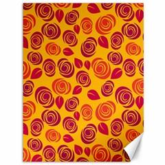 Orange roses Canvas 36  x 48