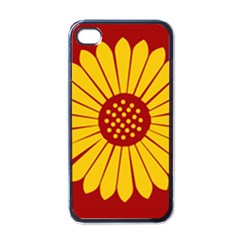 Flag of Myanmar Army Eastern Command Apple iPhone 4 Case (Black)