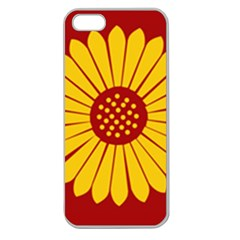 Flag of Myanmar Army Eastern Command Apple Seamless iPhone 5 Case (Clear)
