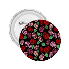 Red and pink roses 2.25  Buttons