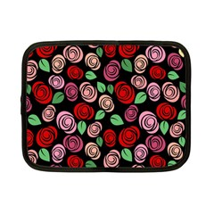 Red And Pink Roses Netbook Case (small)