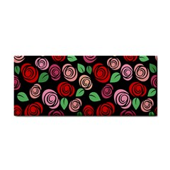 Red and pink roses Cosmetic Storage Cases