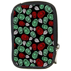 Decorative floral pattern Compact Camera Cases