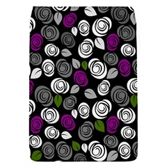 Purple Roses Pattern Flap Covers (s)