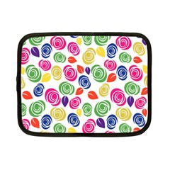 Colorful Roses Netbook Case (small)