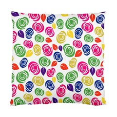 Colorful roses Standard Cushion Case (Two Sides)