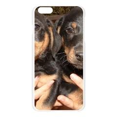 Dachshund Pups Apple Seamless iPhone 6 Plus/6S Plus Case (Transparent)