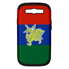 Flag Of Myanmar Kayah State Samsung Galaxy S Iii Hardshell Case (pc+silicone)