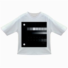 Grayscale Test Pattern Infant/Toddler T-Shirts